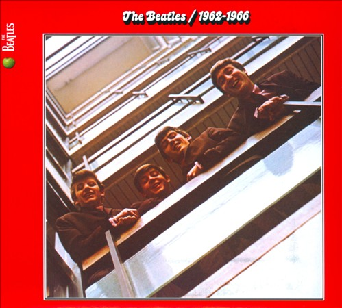 1962-1966 (RED) BY BEATLES (CD)